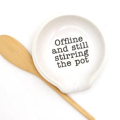 Stirring the Pot Spoon Rest