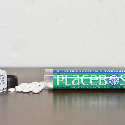 Relief from Academic Overwhelm: Placebos Mints