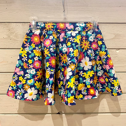 Girl's Floral Skirt - Size 5