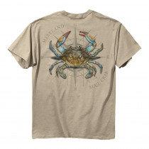 Blue Crab Compass T-Shirt
