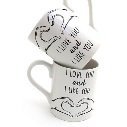 Parks and Rec/Leslie & Ben Mug Set