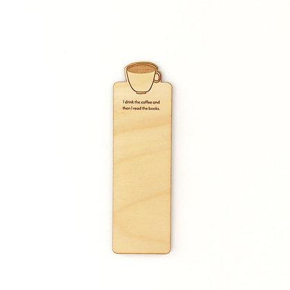 Coffee Wood Bookmark