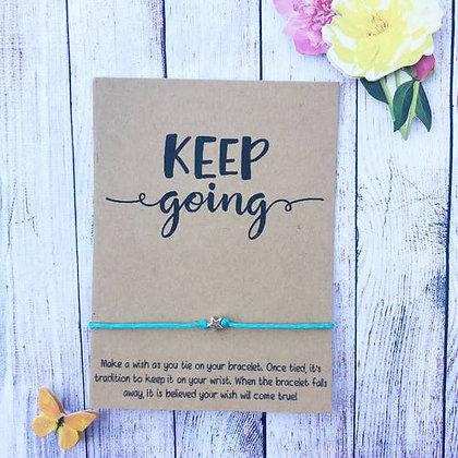 Keep Going Wishlet