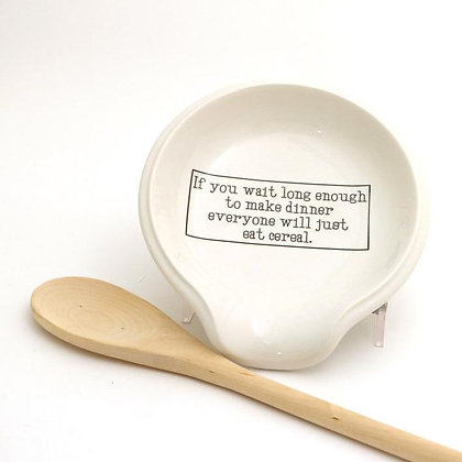 Cereal for Dinner Spoon Rest
