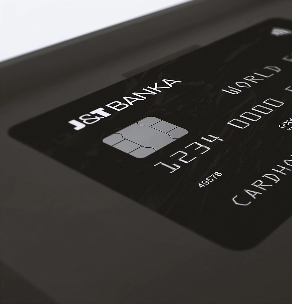 j&t bank card design