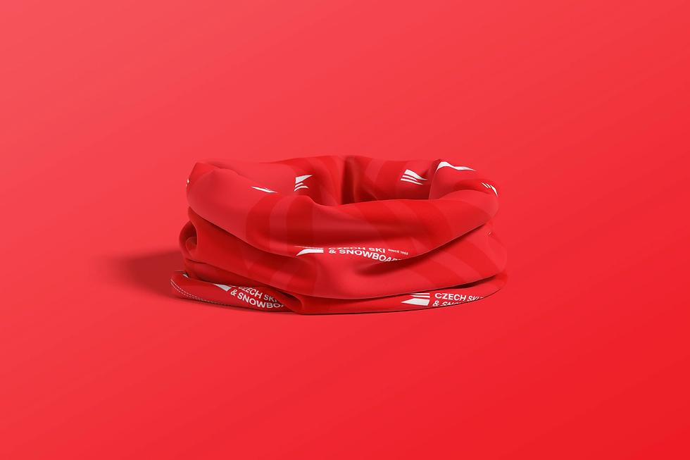red cravat czech ski