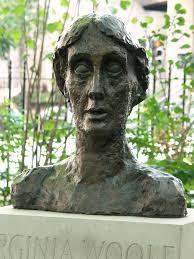 Virginia Woolf bust, Tavistock Square