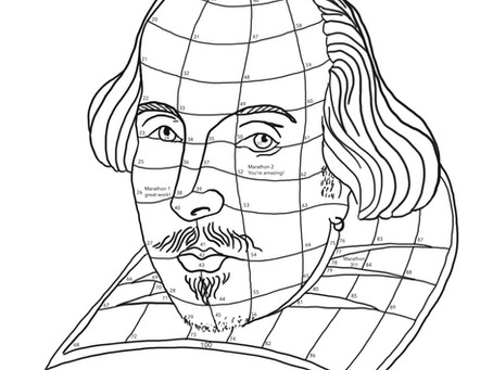100 socially distant miles... with William Shakespeare!