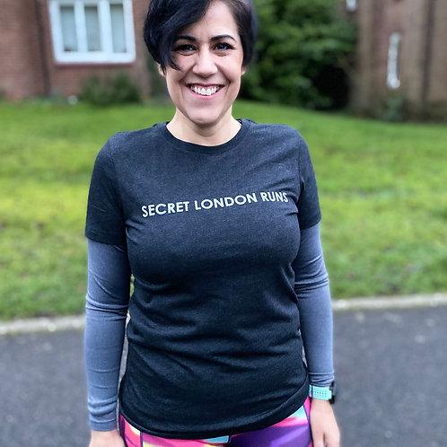 Vintage Black Secret London Runs ladies shirt