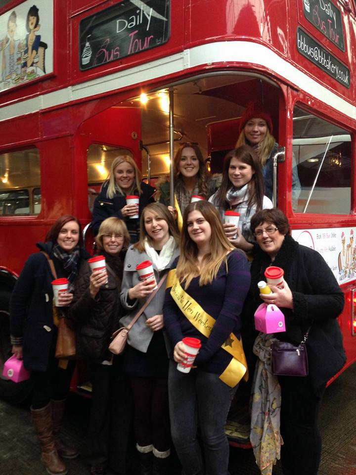 Hen Party BB Bakery Bus