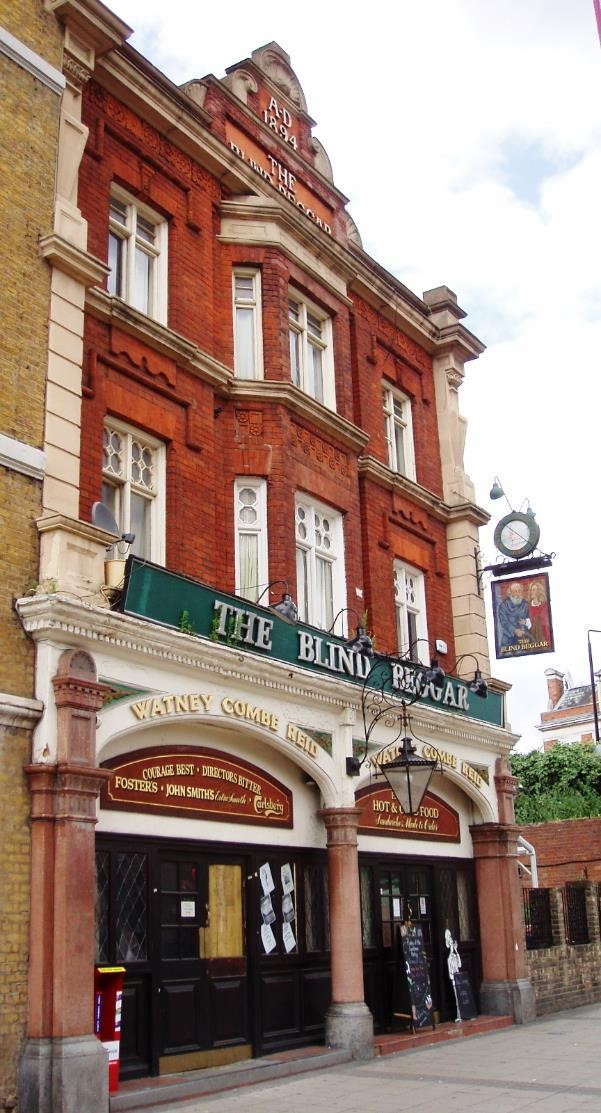 The Blind Beggar, Whitechapel Road, London