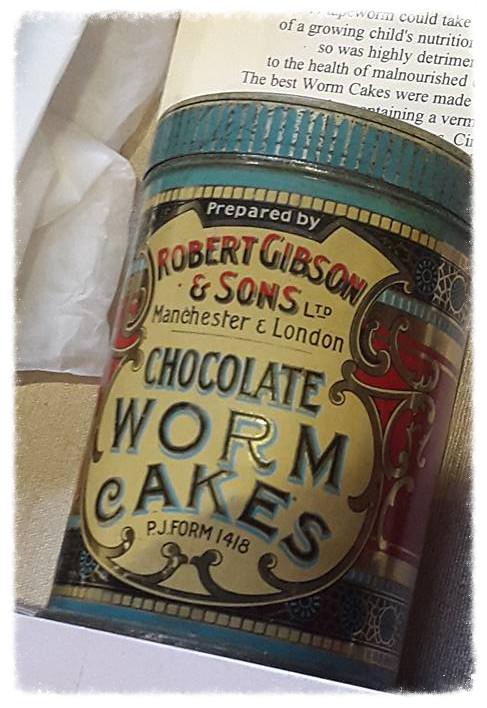Chocolate Worm Cakes