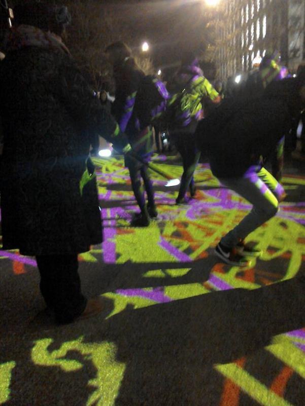 Light Graffiti Lumiere London