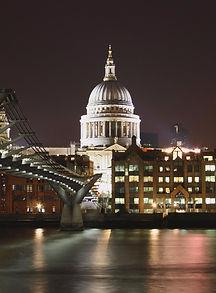 St Paul's Cathedral and Milennium Bridge