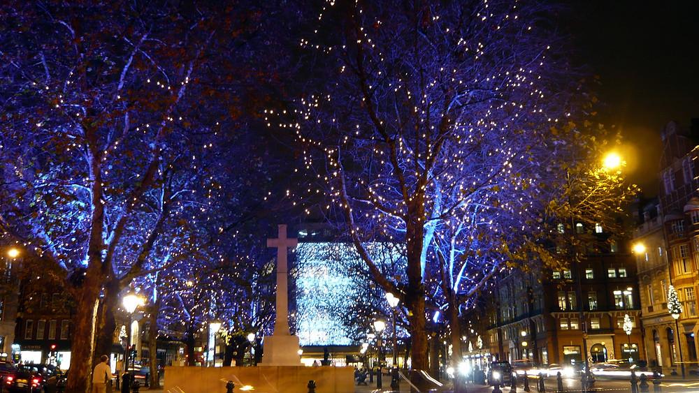 Christmas Lights Sloane Square