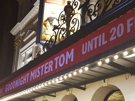 Goodnight Mister Tom: A Yearful of London Week 6