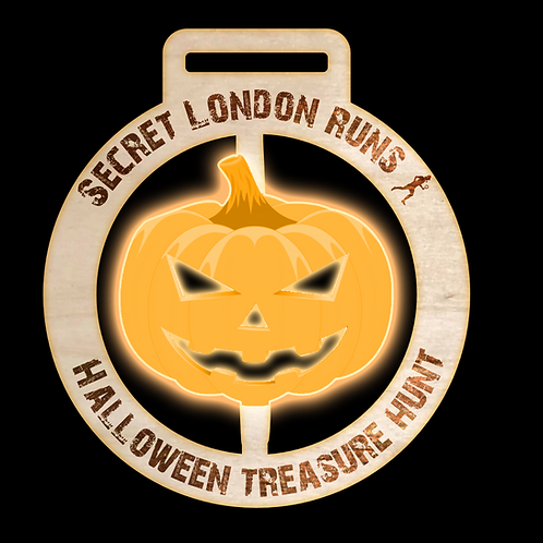 Family Halloween Treasure Hunt medal