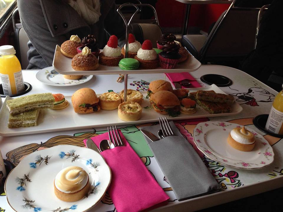 BB Bakery Bus Afternoon Tea