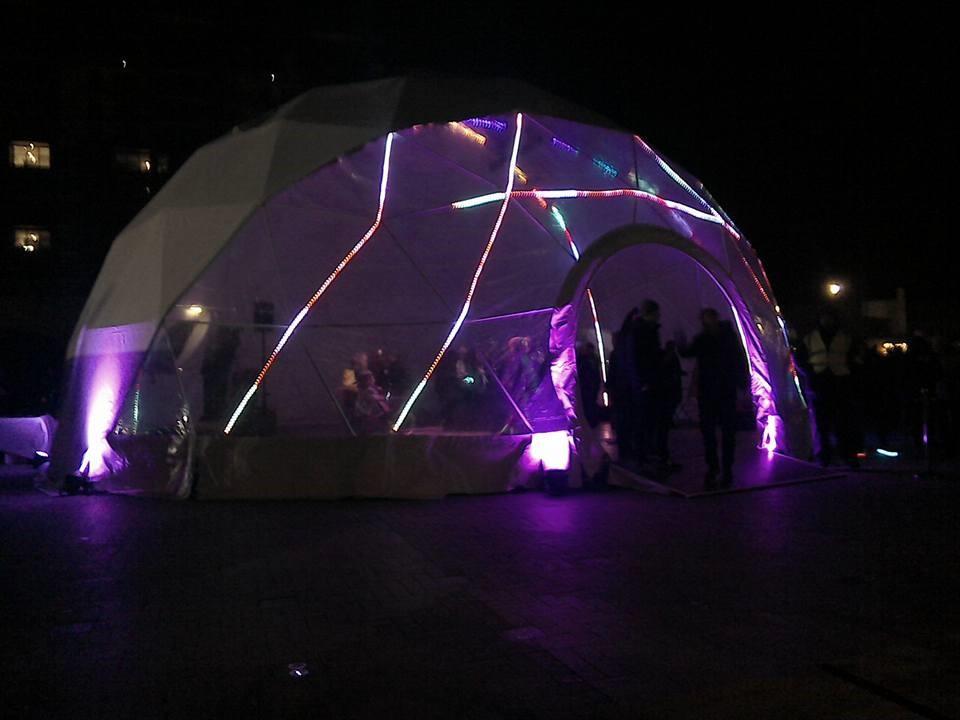 Tent, Lumiere London