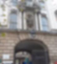 Henry VIII statue, St Bartholomew's Hospital, London