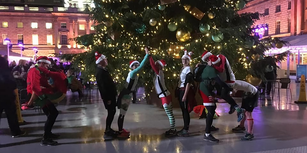 Petts Wood Christmas Lights Running Tour
