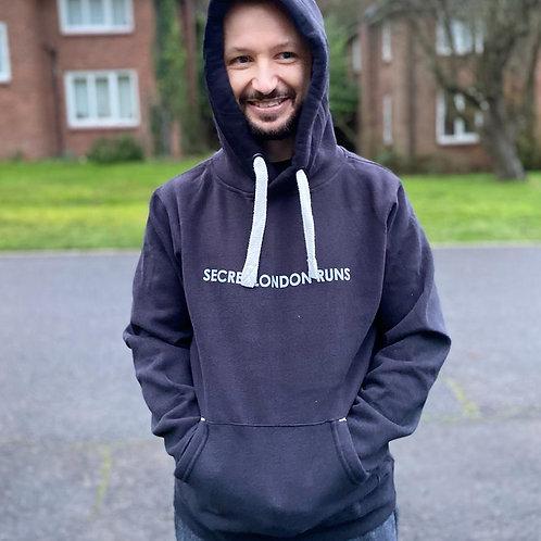 Vintage black Secret London Runs hoodie