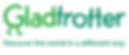 Logo for trip travel advice website gladtrotter
