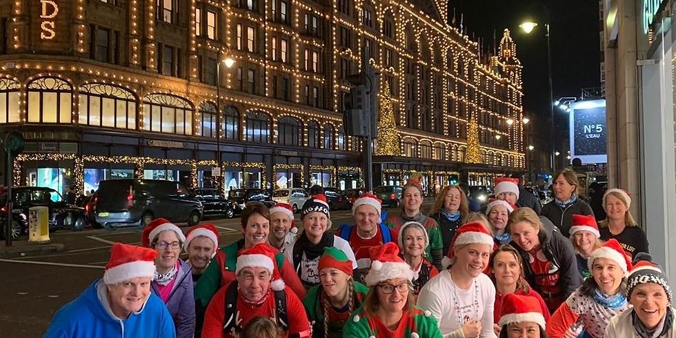 Zero2Hero Christmas Lights Running Tour