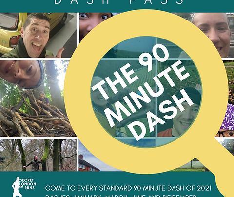 90 Minute Dash 2021 Pass