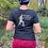 Thumbnail: Black MAY CONTAIN GIN ladies t-shirt