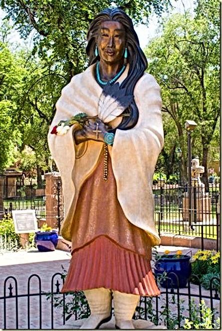 Kateri Tekakwitha Bronze Statue Santa Fe