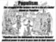 Populism on Farmers illustration cartoon