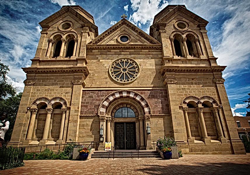 Basilica Saint Francis - Santa Fe - Front View