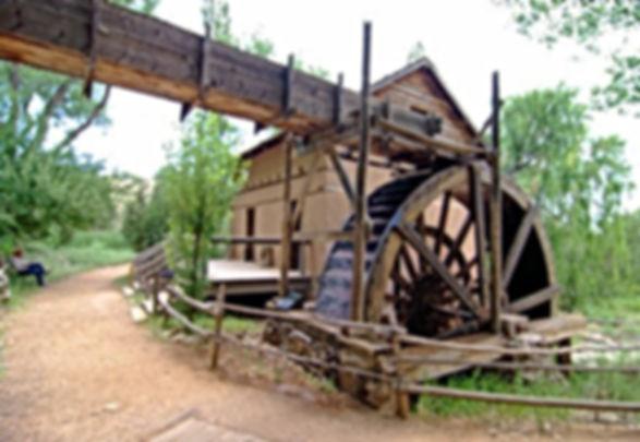 Water Wheel El Rancho se las Golondrinas