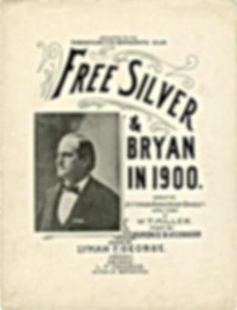 Bryan 1900 Free Silver Flyer