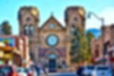 Saint Francis Cathedral - Santa Fe- Street View