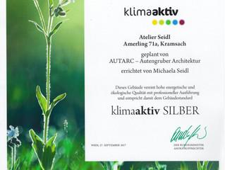 Klimaaktiv Zertifizierung