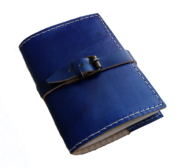 Genuine Leather Journal Pocket Travel Diary Sketch Book Gift Item