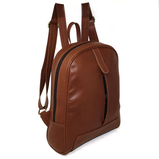 Women's Leather Backpack College Bag for Girls Casual Daypack Gift for Her
