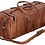 "Thumbnail: 28"" Genuine Leather Mens Duffel Gym Sports Travel Weekend Carry on Lugga"