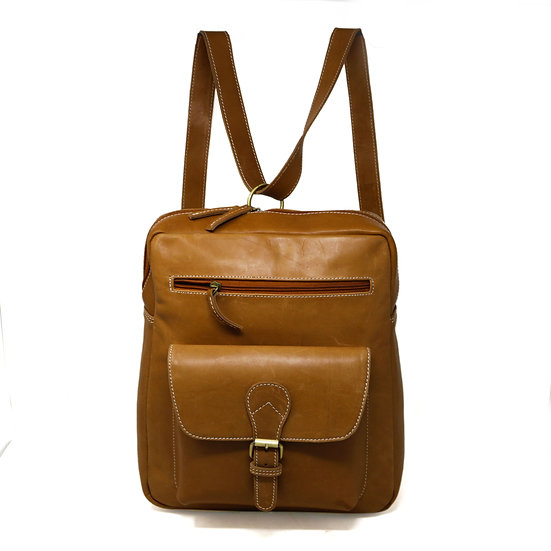 Leather Backpack for Women College Bag for Girls Casual Daypack Gift for Her