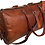 "Thumbnail: Jaald 21"" Genuine Leather Men's Duffel bag Gym Sports Travel Weekend Duf"
