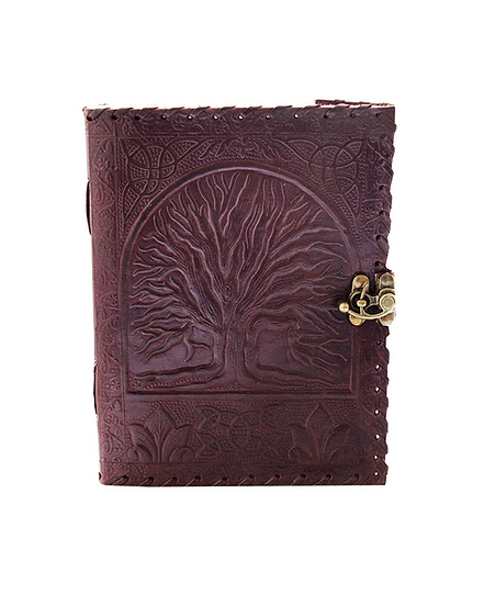 Genuine Leather Journal large diary travel writing pad sketch book