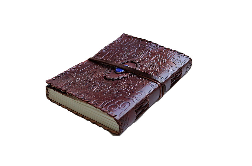 Genuine Leather Journal Vintage Tribal Style Personal Diary Gift For Men Women