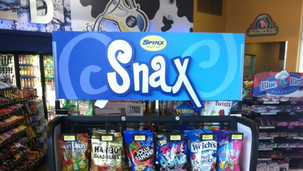 Spinx Snax Indoor Display