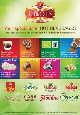 Flaronis coffee catalogue
