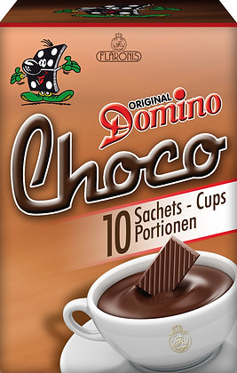 DOMINO HOT CHOCOLATE INSTANT 10 IND. PORTIONS