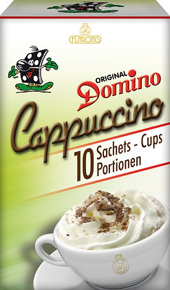 DOMINO CAPPUCCINO INSTANT 10 PORTIONS