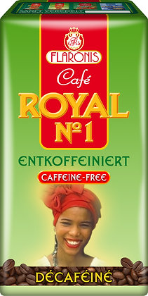 ROYAL N°1 CAFFEIN FREE GROUND 500 G