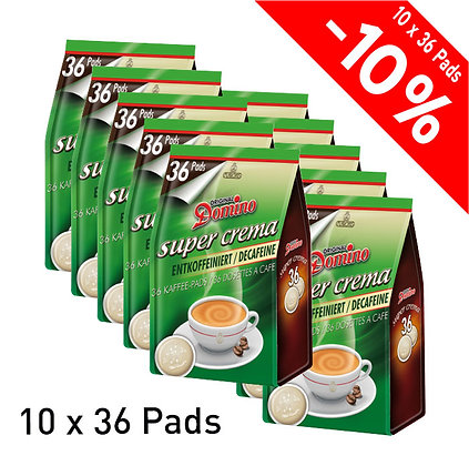 DOMINO 360 COFFEE PADS - CAFFEINE FREE